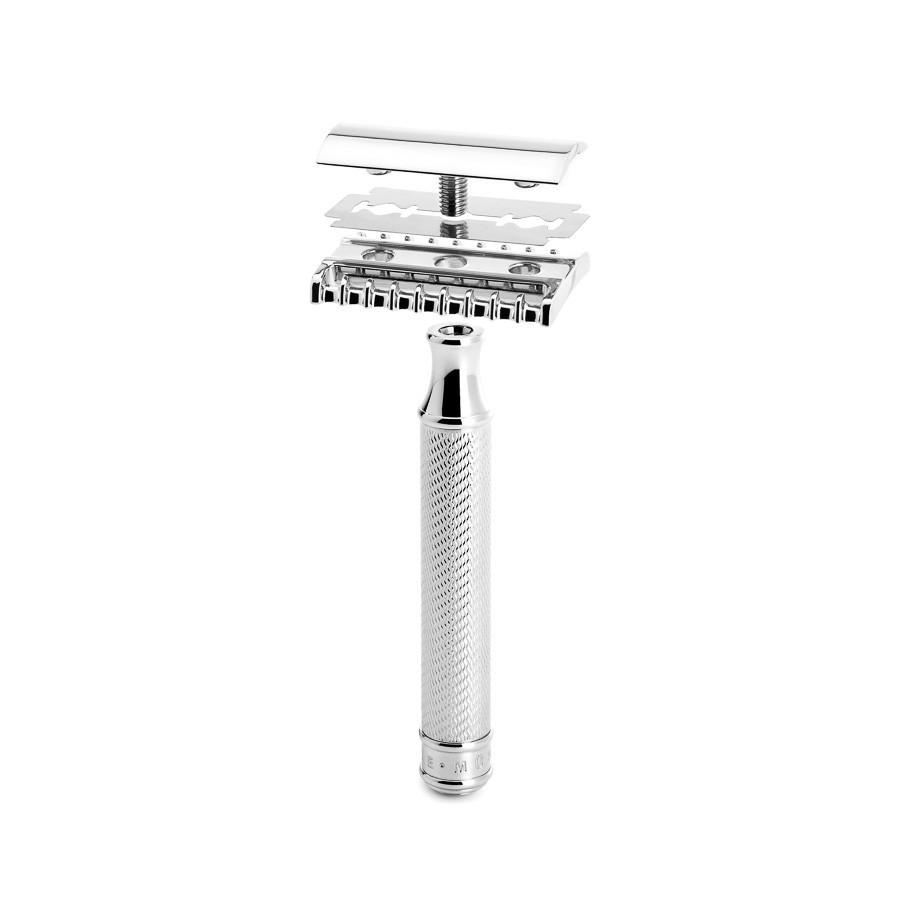 Muhle R41 Grande Tooth Comb Double-Edge Safety Razor Double Edge Safety Razor Muhle