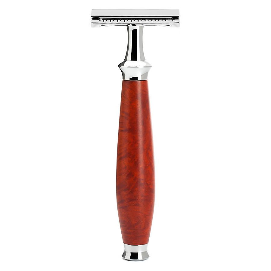 Muhle Purist R59 Double-Edge Classic Safety Razor, Briar Wood Double Edge Safety Razor Discontinued