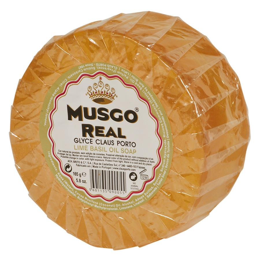 Musgo Real Glycerine Lime Oil Soap, Lime Basil Pre Shave Discontinued