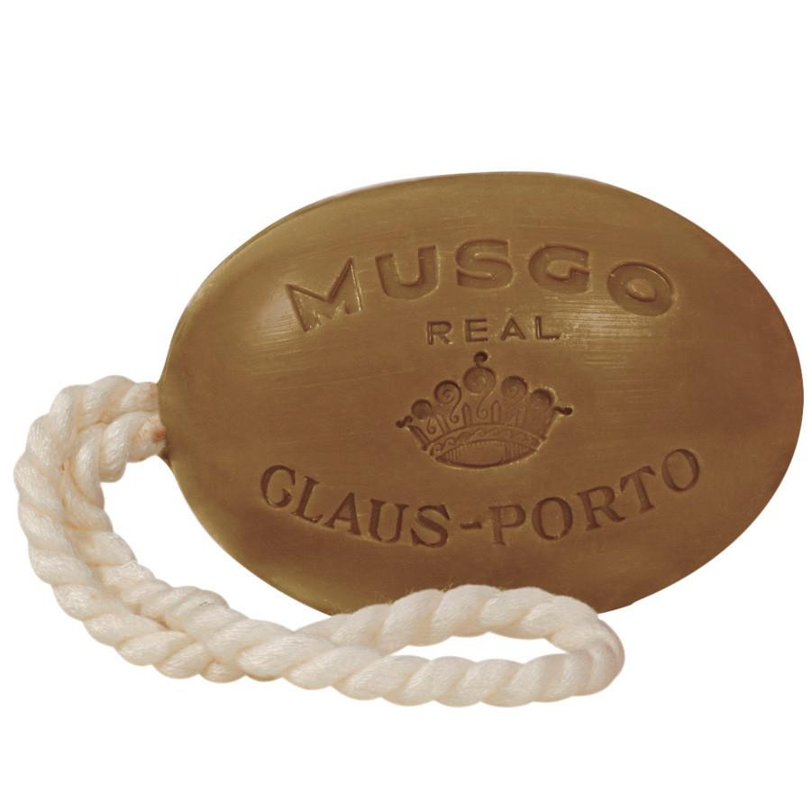 Musgo Real Soap on a Rope, Orange Amber Body Soap Musgo Real