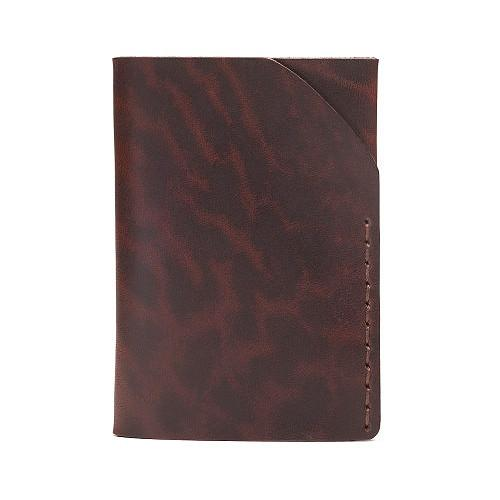 Bison No. 2 Wallet in Five Colors, English Bridle Leather by Hermann Oak, St. Louis - Fendrihan - 6