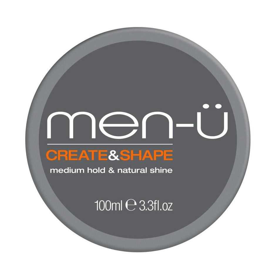 men-u Ultra Create and Shape Hair Pomade Men's Grooming Cream Men-U