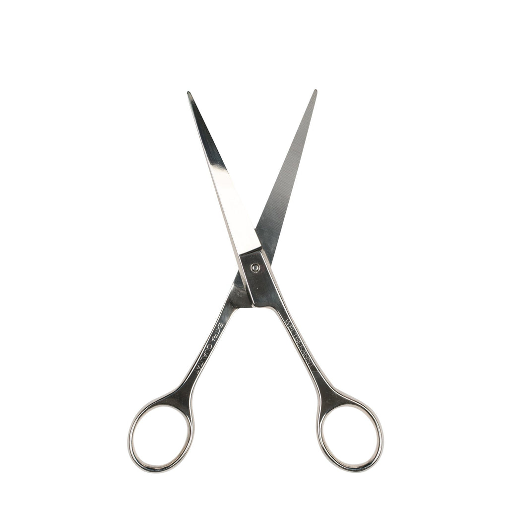 Nippes Solingen Silver Steel Barber Scissors