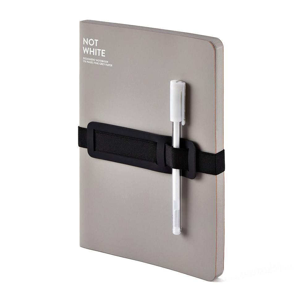 Nuuna NOT WHITE Light Designer's Notebook Notebook Nuuna Grey