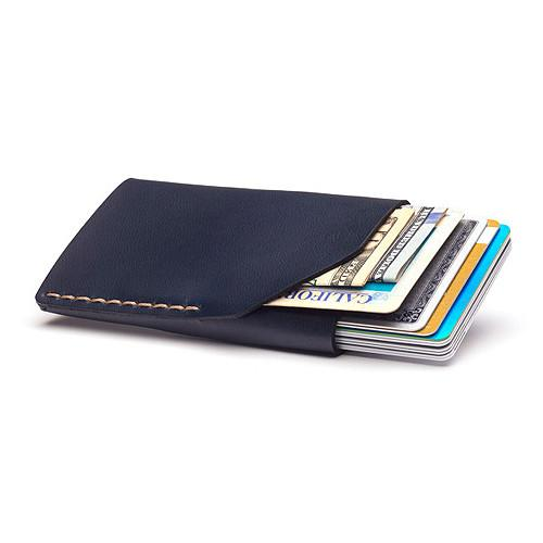 Bison No. 2 Wallet in Five Colors, English Bridle Leather by Hermann Oak, St. Louis - Fendrihan - 5