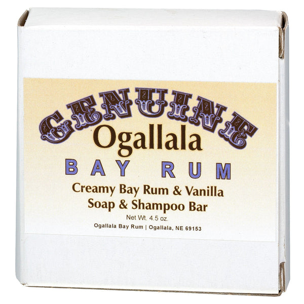Ogallala Creamy Bay Rum and Vanilla Soap and Shampoo Bar - Fendrihan - 1
