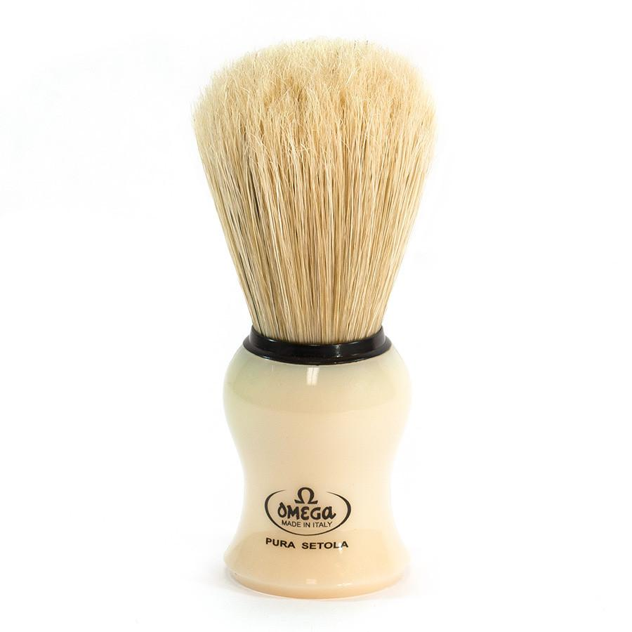 Omega 66 Boar Bristle Shaving Brush Boar Bristles Shaving Brush Omega
