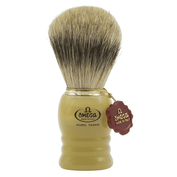 Omega 620 Silvertip Badger Shaving Brush - Fendrihan - 1