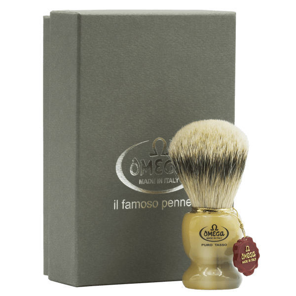 Omega 621 Silvertip Badger Shaving Brush - Fendrihan - 2