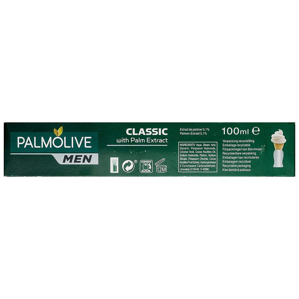 Palmolive Classic Shaving Cream with Palm Oil Shaving Cream Palmolive