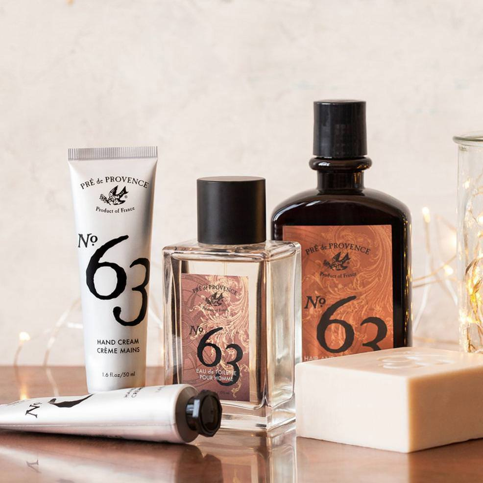 Pre de Provence No. 63 Men's Eau de Toilette Fragrance for Men Pre de Provence
