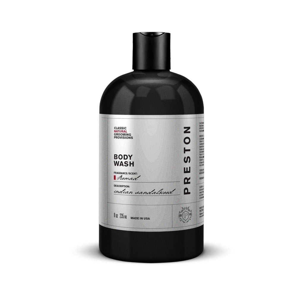 Preston Body Wash Men's Body Wash Preston