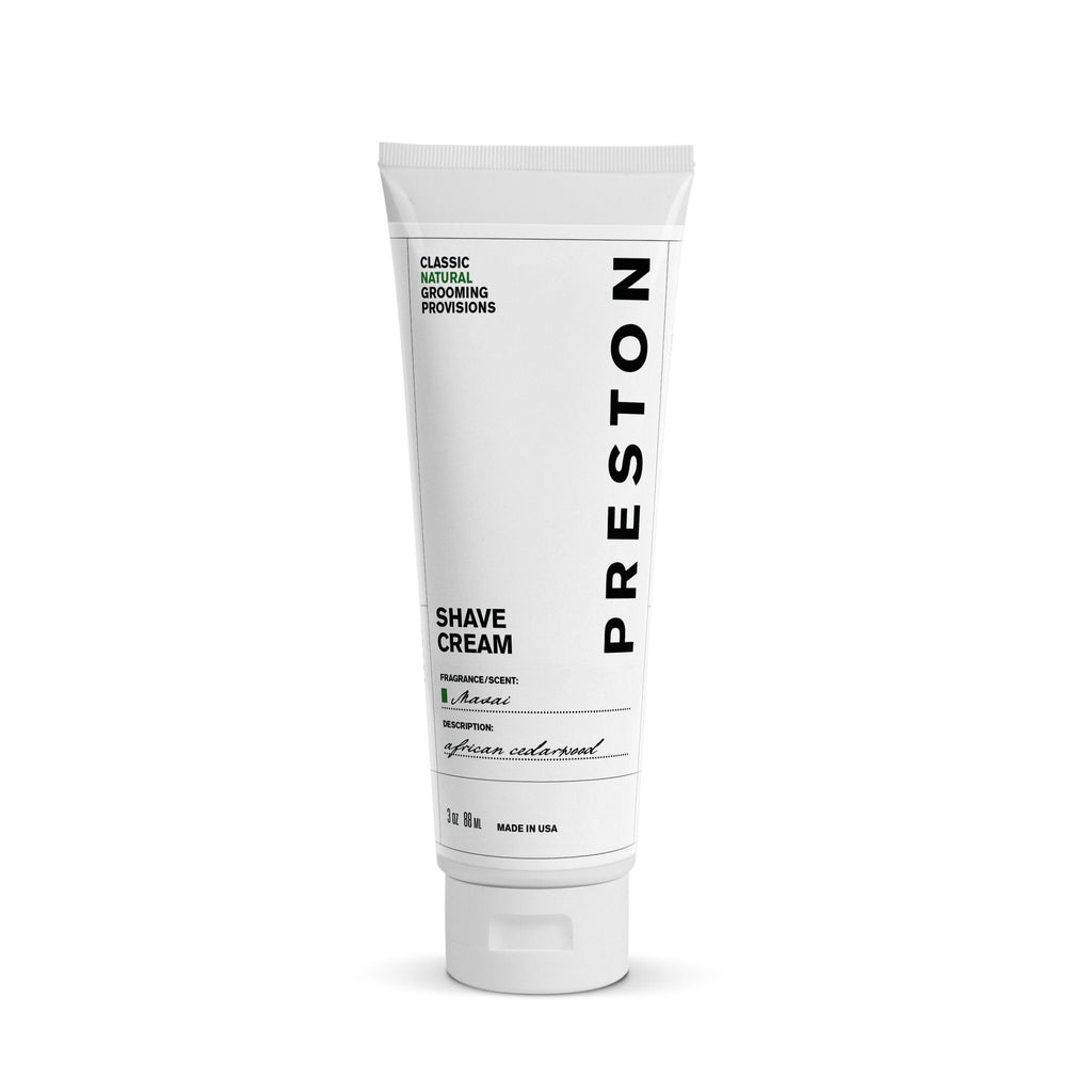 Preston Shave Cream Shaving Cream Preston Masai