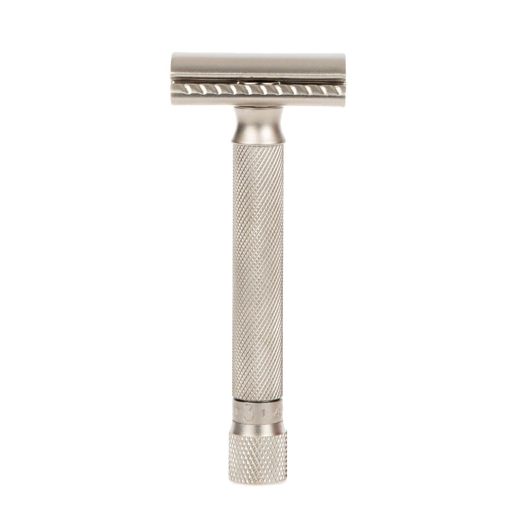 Parker Variant Adjustable Double Edge Safety Razor Double Edge Safety Razor Parker Razors Satin Chrome