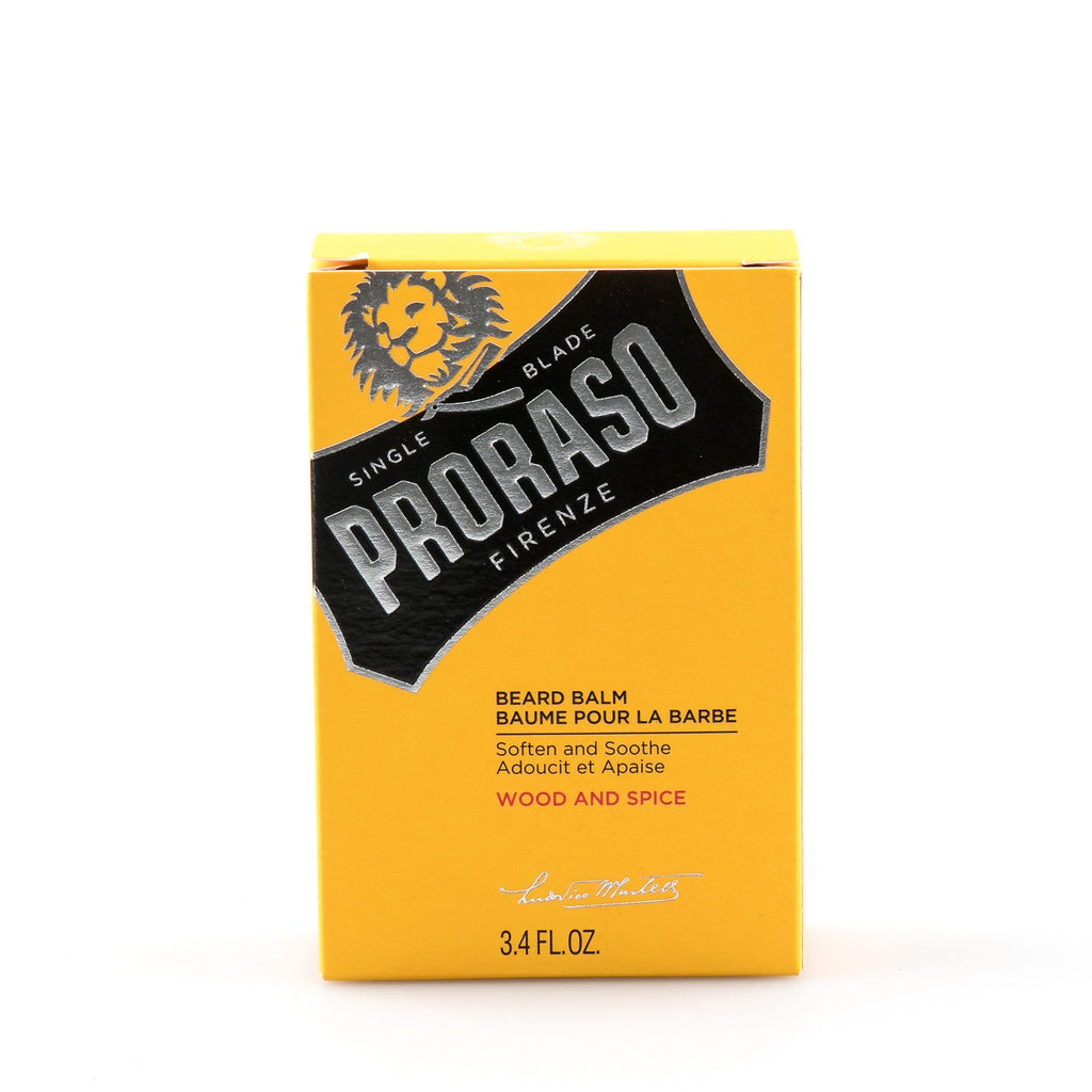 Proraso Beard Balm, Wood and Spice Beard Treatment Proraso
