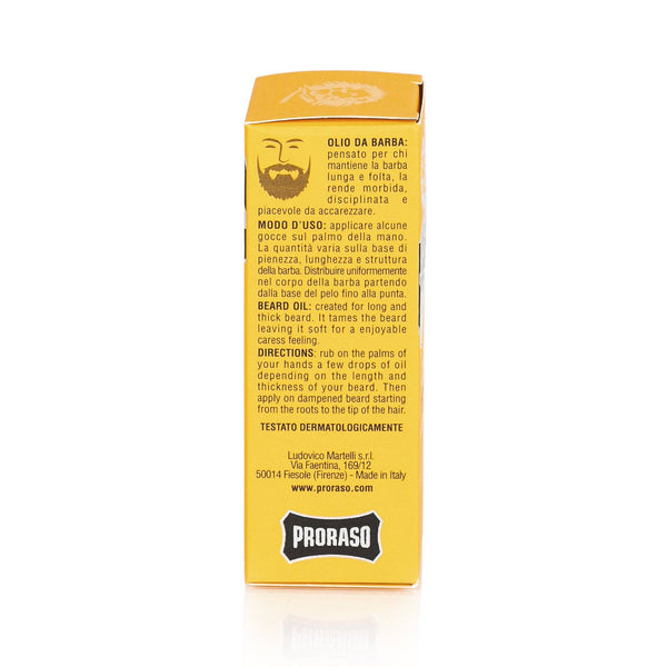 Proraso Beard Oil - Fendrihan - 3