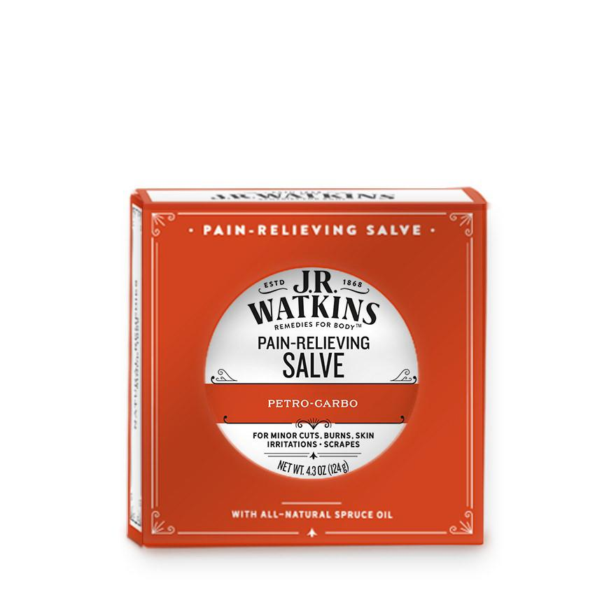 J. R. Watkins Petro-carbo Pain Relieving First Aid Salve Apothecary Remedies For The Body J. R. Watkins
