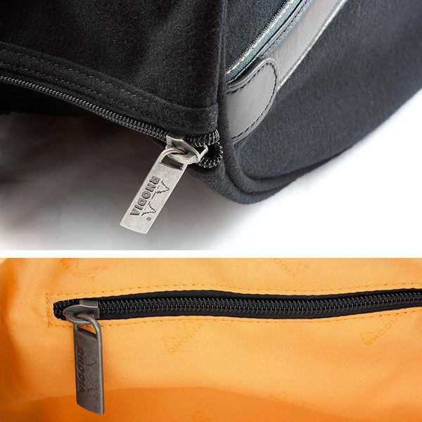 Rhodia ePure Large Travel Bag, Black - Fendrihan - 4