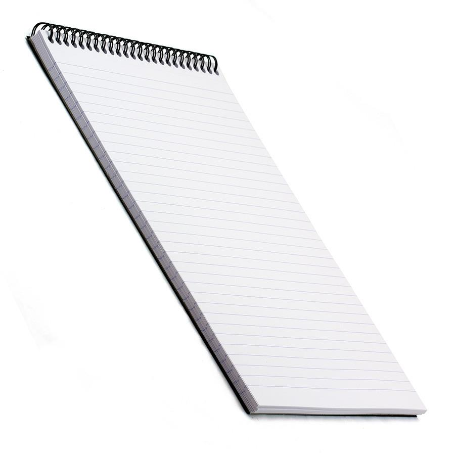 Rhodia Soft Cover Wirebound Pad, Black, Lined Paper Notebook Rhodia