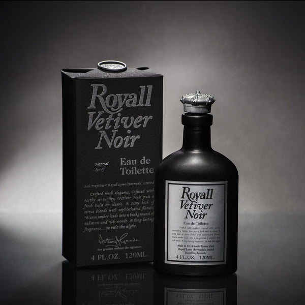 Royall Vetiver Noir Eau de Toilette, 4 oz Natural Spray - Fendrihan - 2
