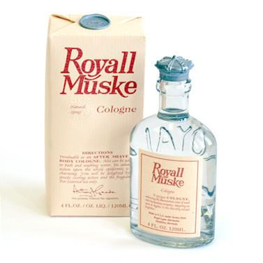 Royall Muske Cologne, 4 oz Natural Spray Fragrance for Men Royall Lyme Bermuda