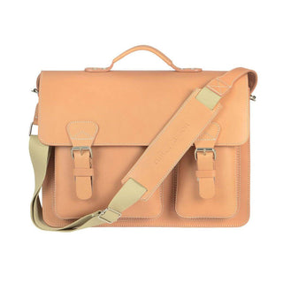 Ruitertassen Classic 2337T Leather Briefcase, Natural Leather Briefcase Ruitertassen