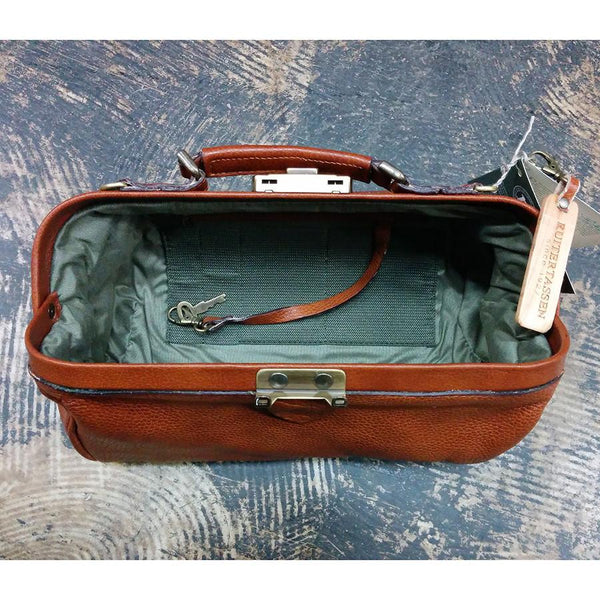 Ruitertassen Soft 4100 Leather Doctor's Bag, Brown - Fendrihan - 2
