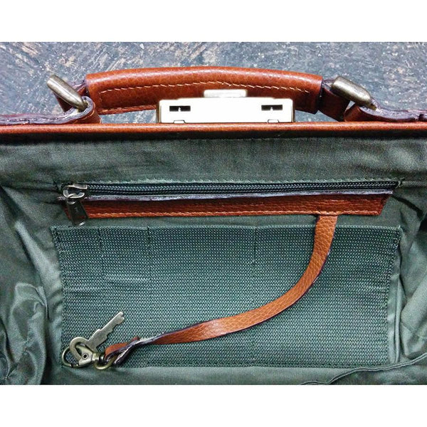 Ruitertassen Soft 4100 Leather Doctor's Bag, Brown - Fendrihan - 3