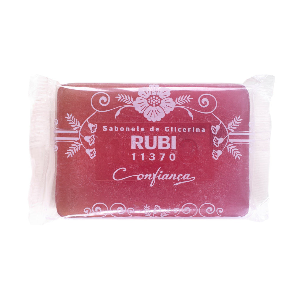 "Confiança Ruby Glycerin ""Glicerina Rubi"" Soap Bar Body Soap Confiança"