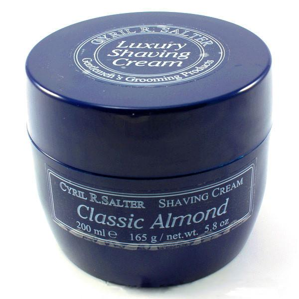 Cyril R Salter Classic Almond Luxury Shaving Cream Shaving Cream Cyril R. Salter