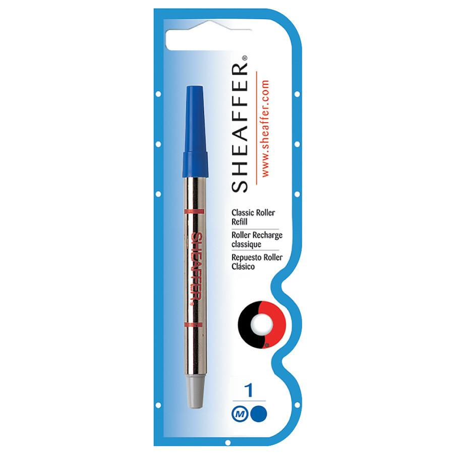 Sheaffer Classic Medium Point Rollerball Pen Refill, Blue Ink & Refill Sheaffer