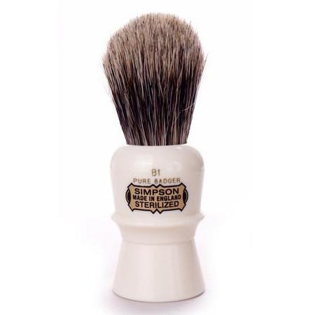 Simpsons Beaufort B1 Pure Badger Shaving Brush Badger Bristles Shaving Brush Simpsons