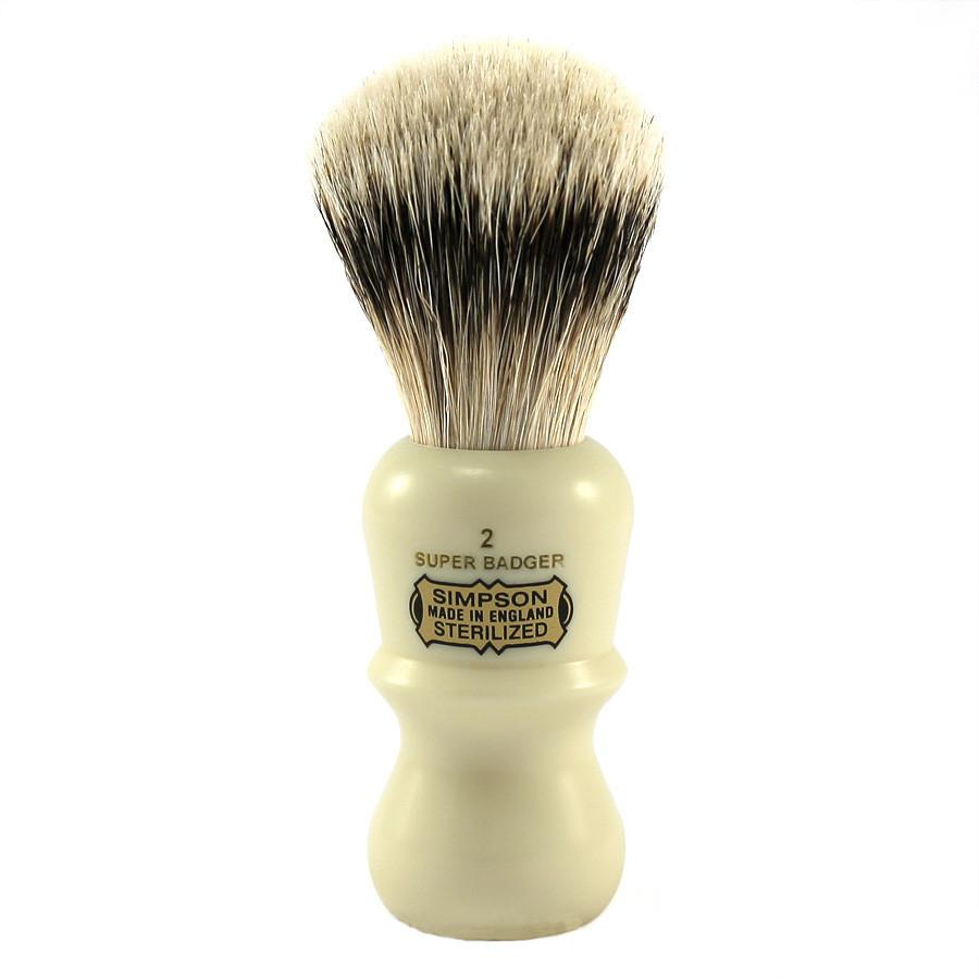 Simpsons Emperor 2 Super Badger Shaving Brush Badger Bristles Shaving Brush Simpsons