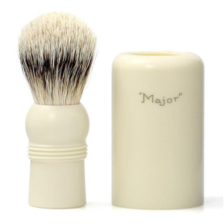 Simpsons Major Best Badger Turnback Travel Shaving Brush Badger Bristles Shaving Brush Simpsons