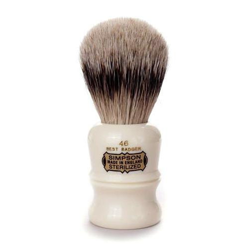 Simpsons Berkeley 46 Best Badger Shaving Brush Badger Bristles Shaving Brush Simpsons