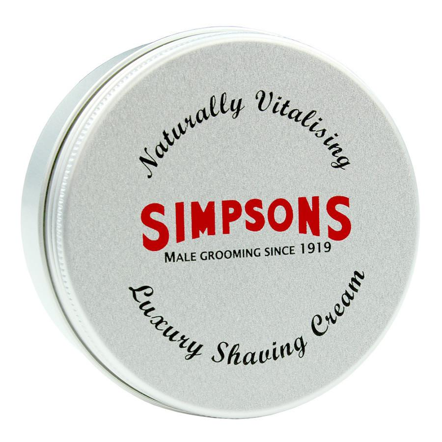 Simpsons Fragrance-Free Luxury Shaving Cream Shaving Cream Simpsons