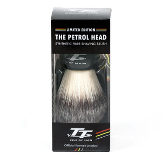 Simpsons Limited Edition Petrol Head Synthetic Shaving Brush with Stand Synthetic Bristles Shaving Brush Simpsons