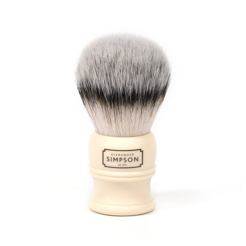 Simpsons Alexander Simpson Trafalgar T1 Synthetic Shaving Brush Synthetic Bristles Shaving Brush Simpsons