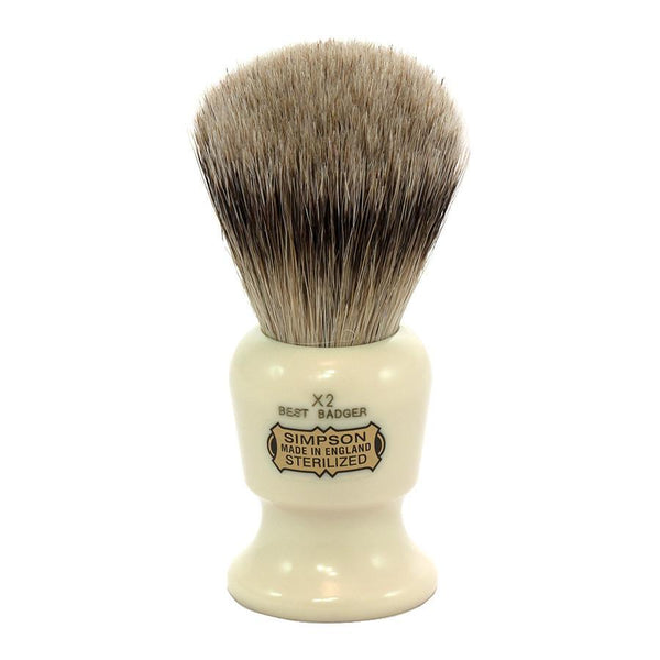 Simpsons The Commodore X2 Best Badger Shaving Brush