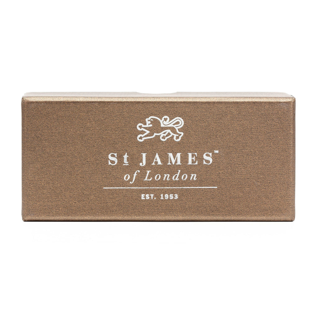 St. James of London Silvertip Badger Shaving Brush, Black Badger Bristles Shaving Brush St. James of London