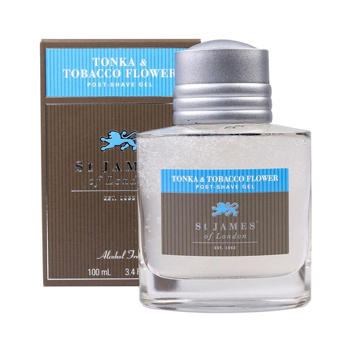 St. James of London Tonka & Tobacco Flower Post-Shave Gel