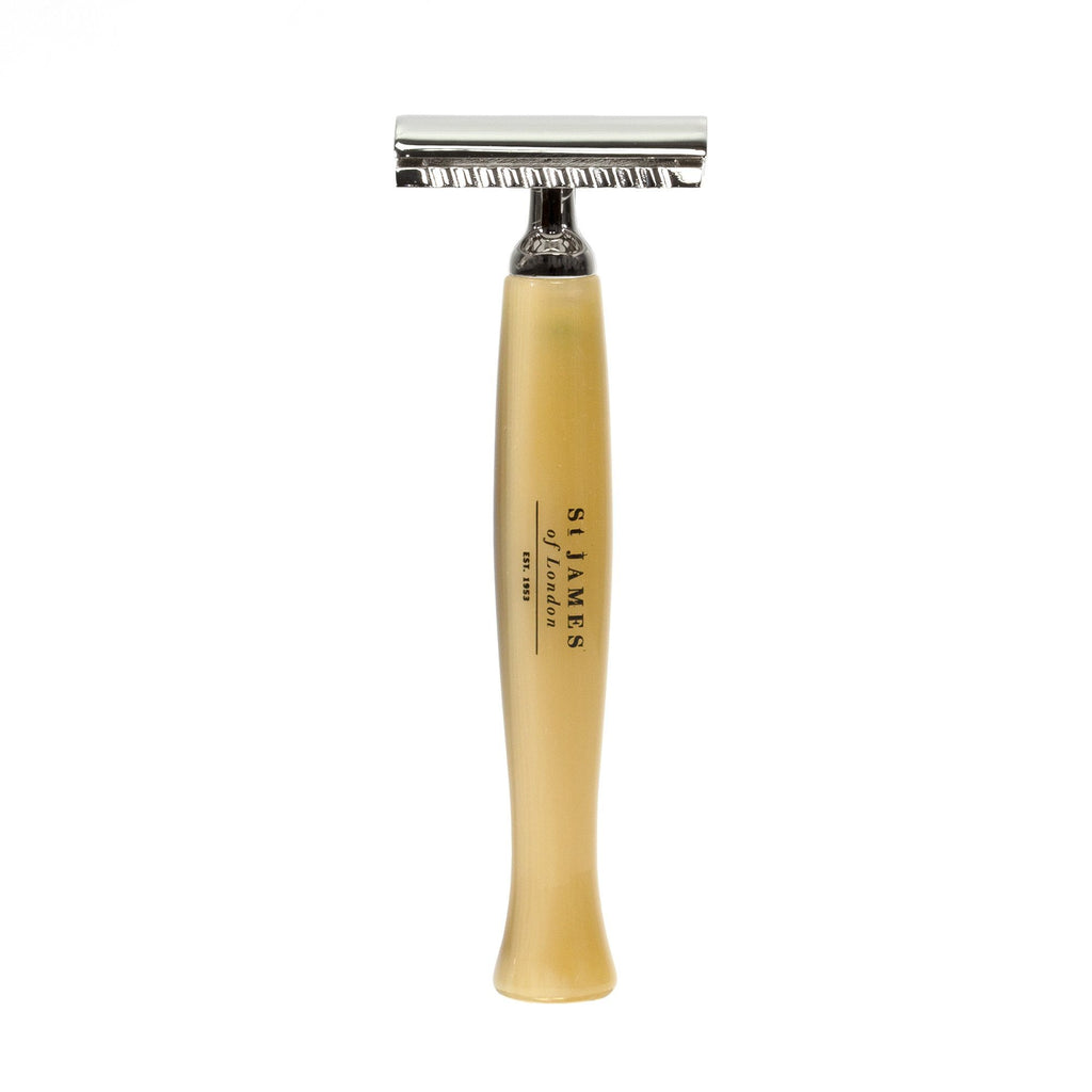St. James of London 'Cheeky B'stard' Safety Razor Double Edge Safety Razor St. James of London Horn