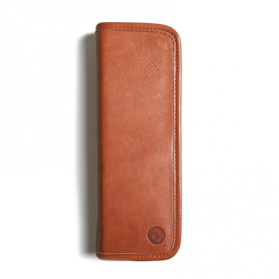 "Sonnenleder ""Lenz"" Pen and Pencil Leather Case, Natural Pen Case Sonnenleder"