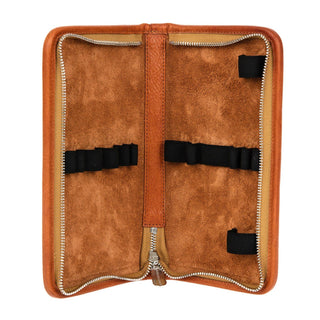 "Sonnenleder ""Nolte"" Pen and Pencil Leather Case, Natural Pen Case Sonnenleder"