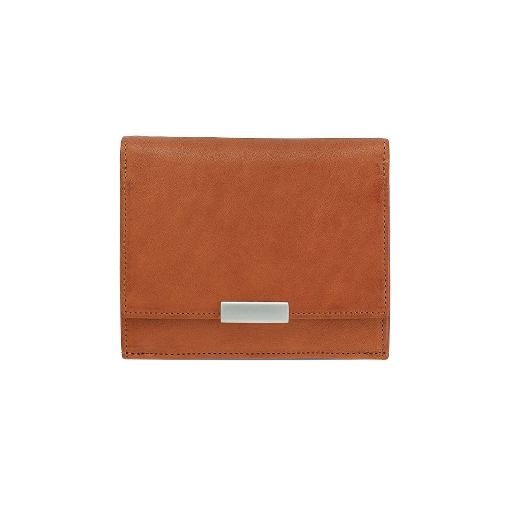 "Sonnenleder ""Wienfluss G"" Vegetable Tanned Leather Wallet with Coin Purse Leather Wallet Sonnenleder"