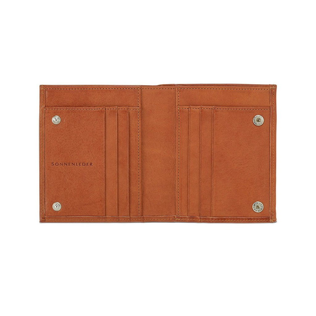"Sonnenleder ""Wienfluss G"" Vegetable Tanned Leather Wallet with Coin Purse Leather Wallet Sonnenleder Natural"