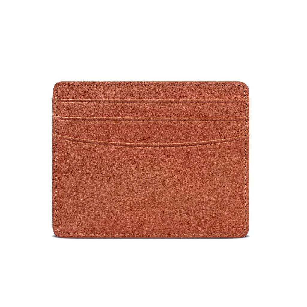 "Sonnenleder ""Elz"" Vegetable Tanned Leather Credit Card Case Leather Wallet Sonnenleder"