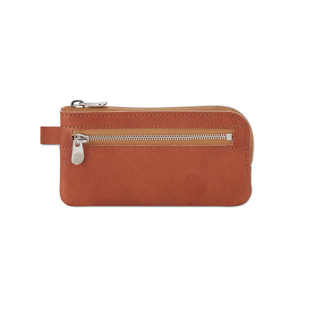 "Sonnenleder ""Mozart H"" Vegetable Tanned Leather Key Case, Small Key Case Sonnenleder Natural"