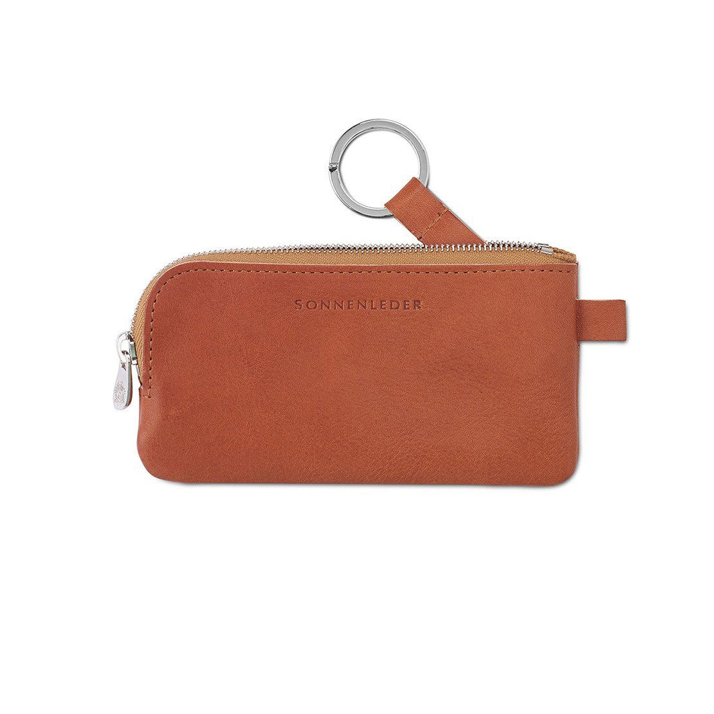 "Sonnenleder ""Mozart H"" Vegetable Tanned Leather Key Case, Small Key Case Sonnenleder"