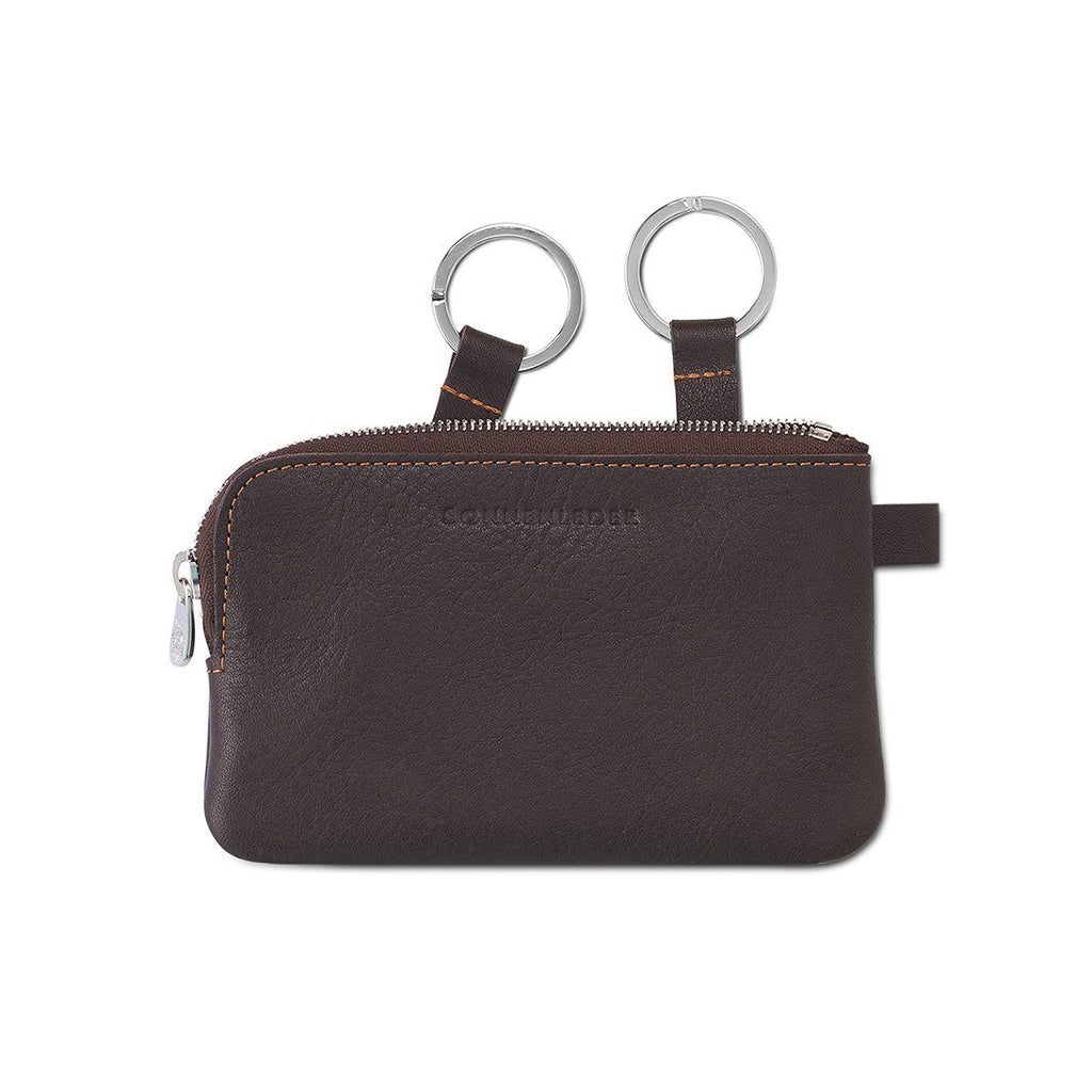 "Sonnenleder ""Mozart C"" Vegetable Tanned Leather Key Case, Large Key Case Sonnenleder"